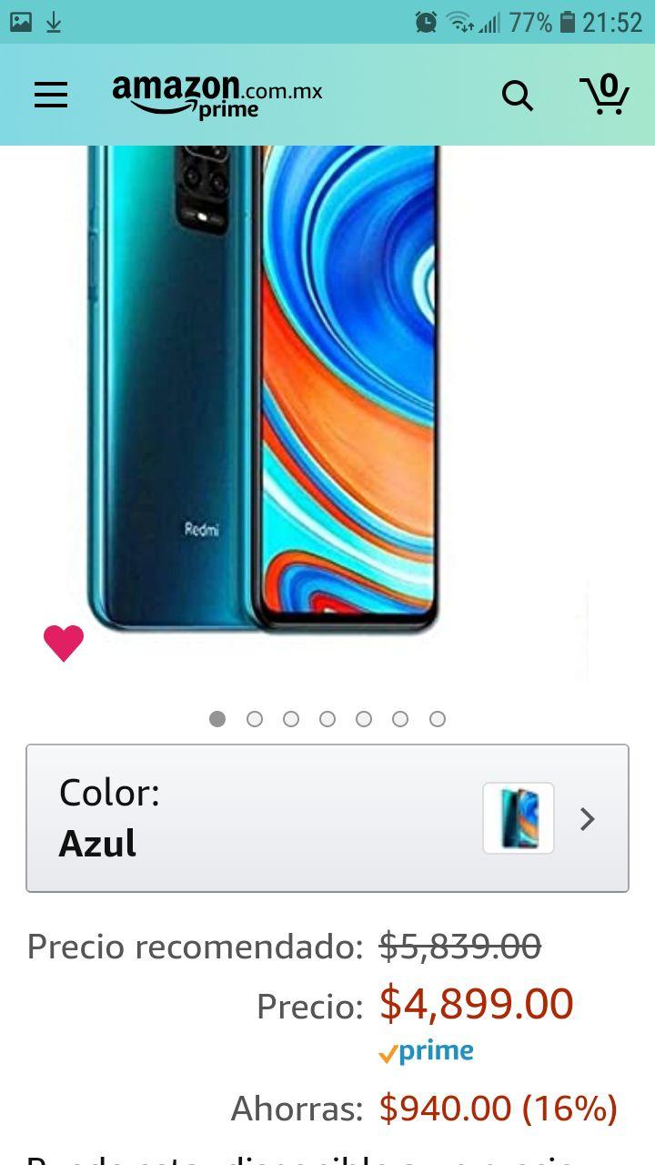 Amazon: Xiaomi note 9s
