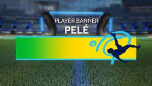 Gratis el letrero de Pelé en Rocket League