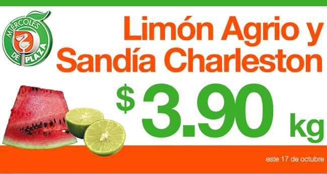 Miércoles de Plaza en La Comer octubre 17: sandía $3.90, plátano $6.50 y más