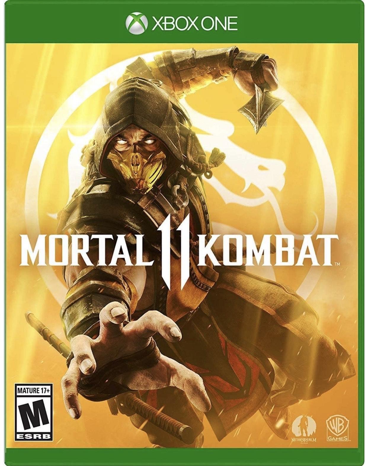 Amazon: Mortal Kombat 11 - Xbox One Standard Edition