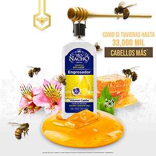 Amazon: Shampoo Tío Nacho Engrosador de 415 ml