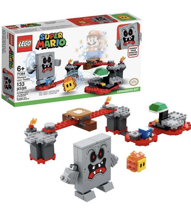 Distritomax: LEGO Super Mario Bros Set de expansion: Lava Letal de Roco