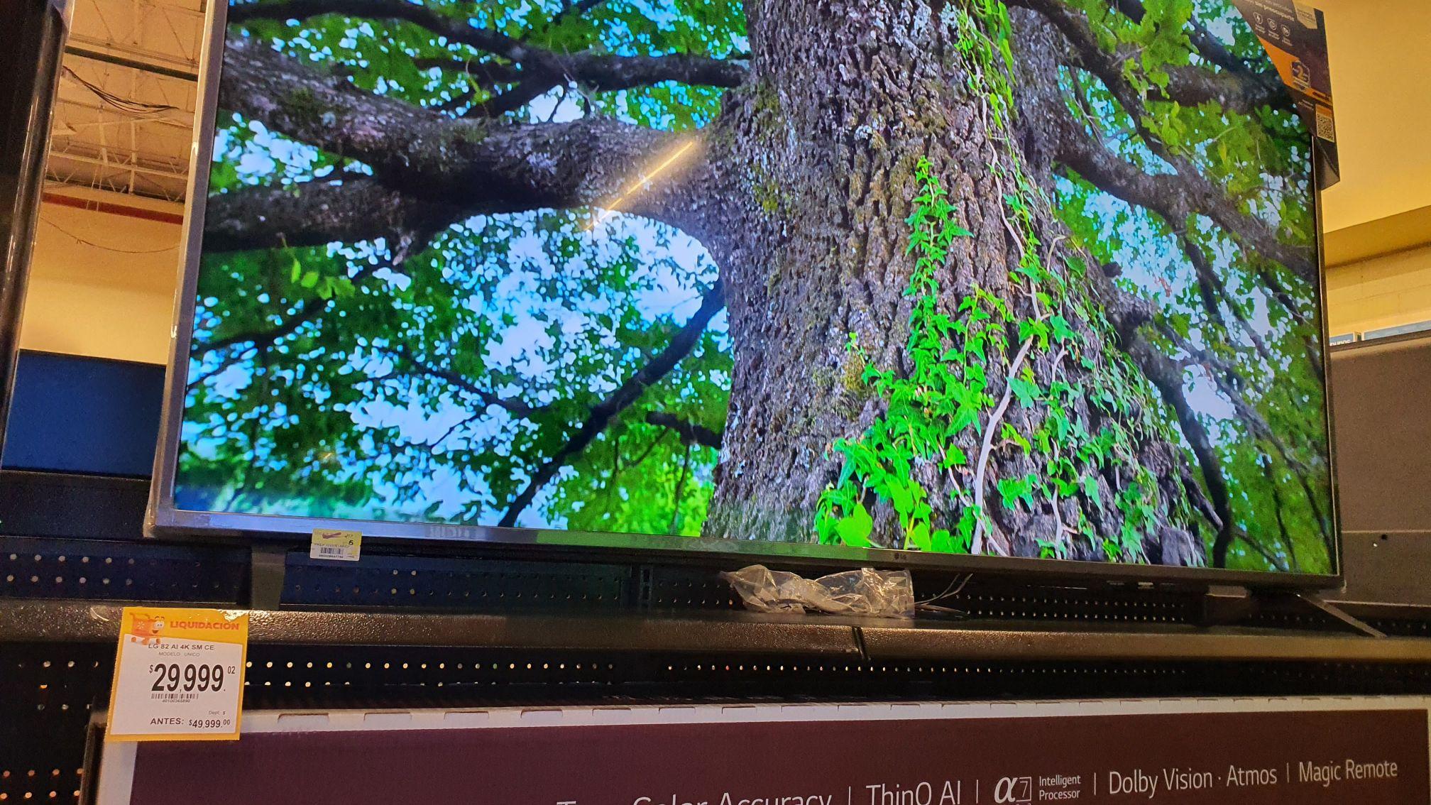 Walmart: TV Lg 82 ai 4k