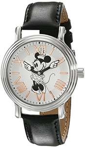 Amazon: Disney - Reloj brazalete de Minnie Mouse para mujer