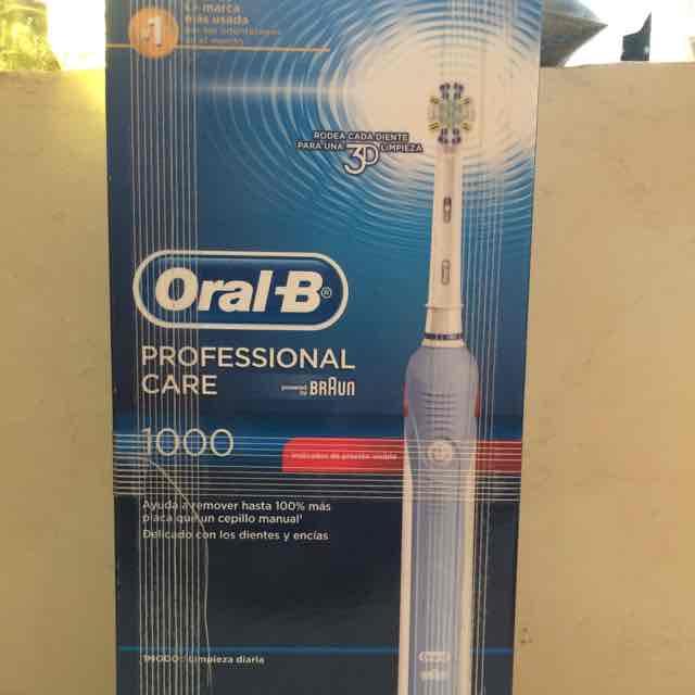 Sam's Club: cepillo eléctrico Oral-B Braun 1000 a $350