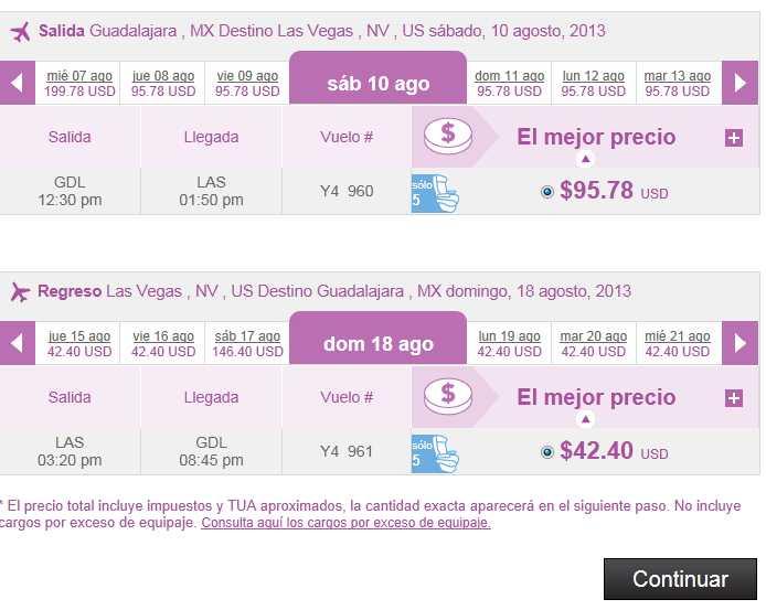 Volaris: vuelos en México desde $499 y a Estados Unidos desde 99 dólares
