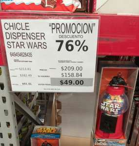 City Club: Chiclera dispenser Star Wars
