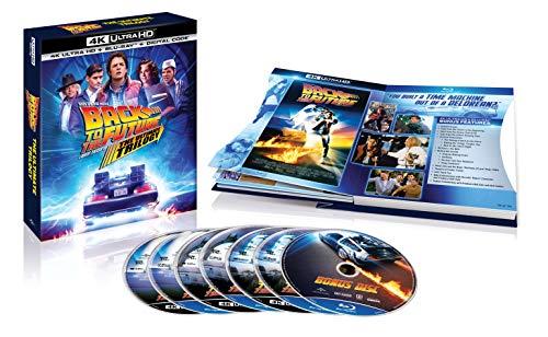 Amazon: Trilogía de Volver al Futuro en BluRay 4K