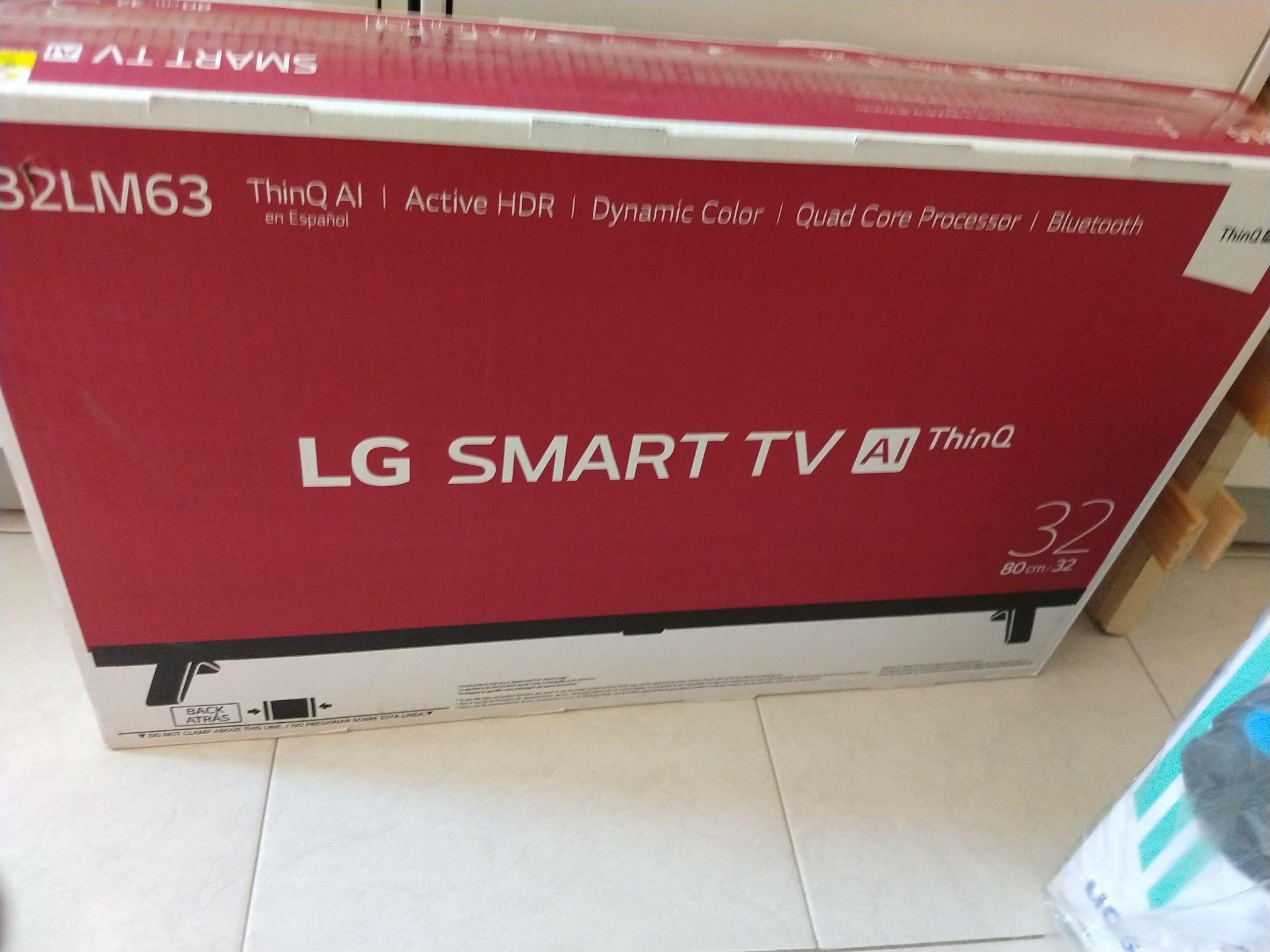 Walmart Vía Alta SMART TV LG 32 pulgadas