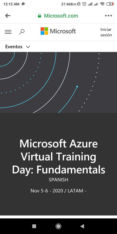 Curso de Azure + Voucher para certificación AZ-900 gratis