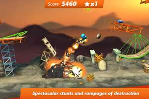 Google Play: Bridge Constructor Stunts a $5