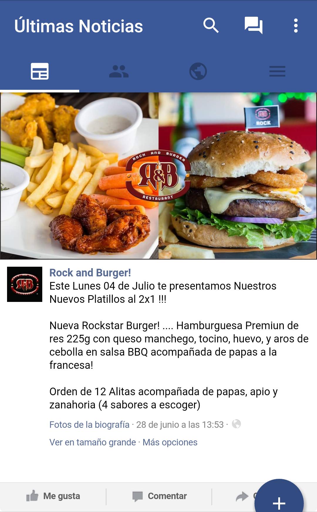 Rock & Burger Veracruz: 2x1 en Rockstar Burger y Orden de 12 Alitas el 4 de Julio