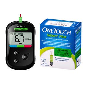 Farmacias del Ahorro: PACK MEDIDOR SELECT PLUS FLEX + 1 CAJA DE 50 TIRAS TIRAS SELECT PLUS (GLUCOMETRO)