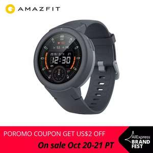 Aliexpress: Amazfit verge lite version global