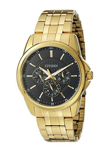 Amazon: Citizen Men dorado reloj de acero inoxidable, aplica prime.