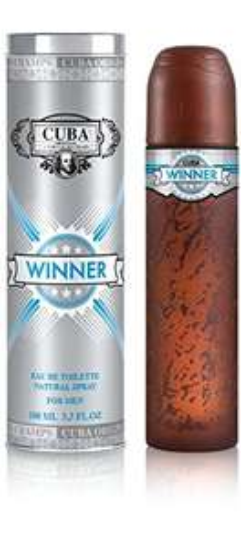 Amazon: Perfume Cuba Winner Spray for Men, 3.3 Ounce