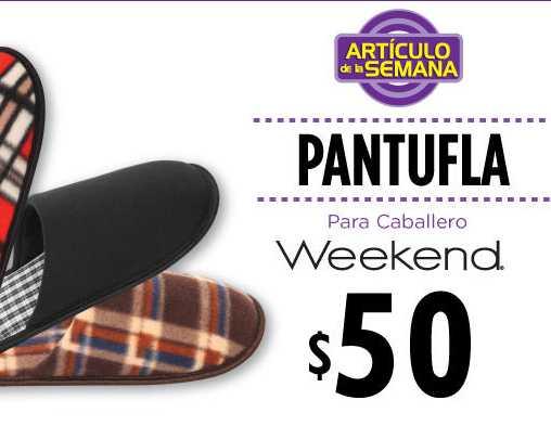 Artículo de la semana en Suburbia: pantuflas para caballero $50