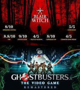 Epic Games: GRATIS Ghostbusters: The Video Game Remastered y Blair Witch 29/10