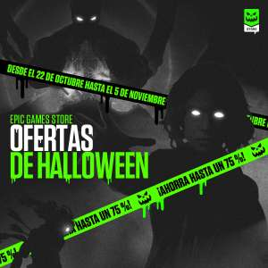 Ofertas de Halloween en EPIC Store (PC)