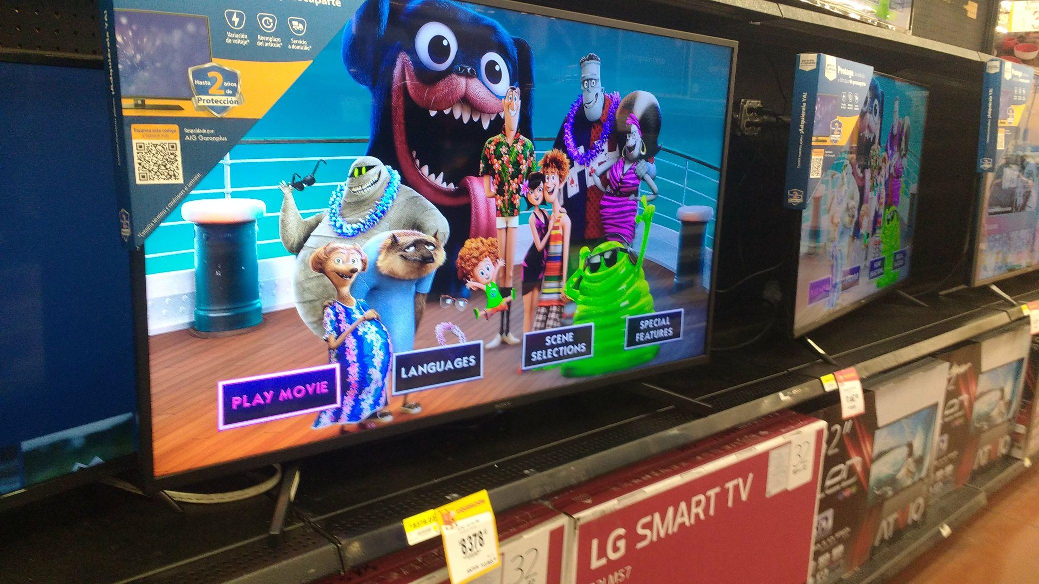 """Walmart: Tv Sony 49"""" 4k"""