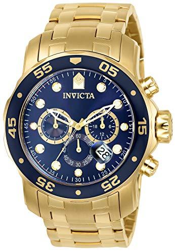 Amazon: Reloj Invicta Pro Diver para Hombres 48mm, pulsera de Acero Inoxidable, cubierta de Zafiro