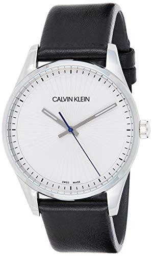 Amazon: Reloj Calvin Klein Steadfast Silver Dial Men's Watch K8S211C6 a $978 MXN