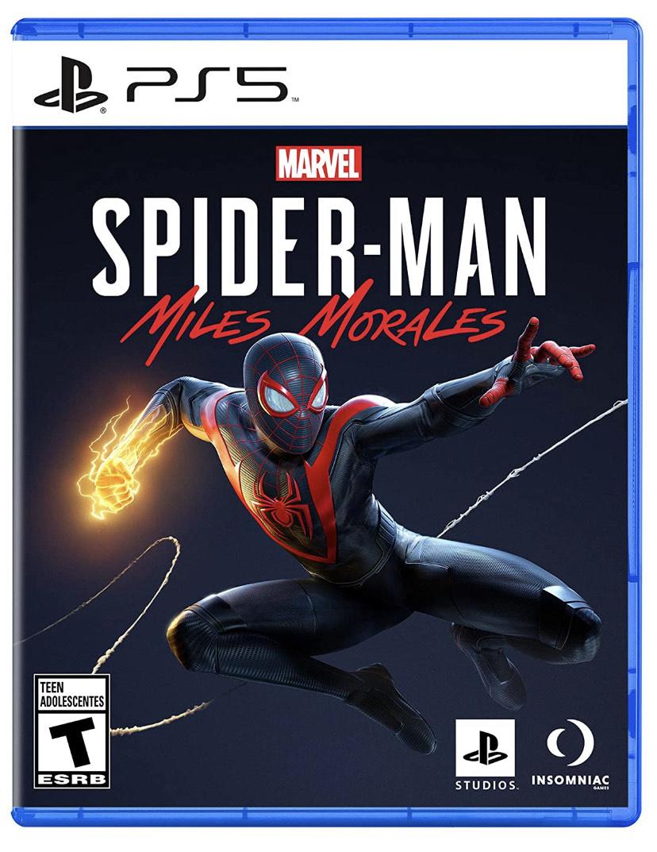 Amazon: Spiderman Miles Morales PS5 y PS4