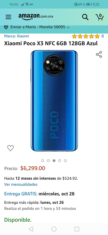 Amazon: Poco x3