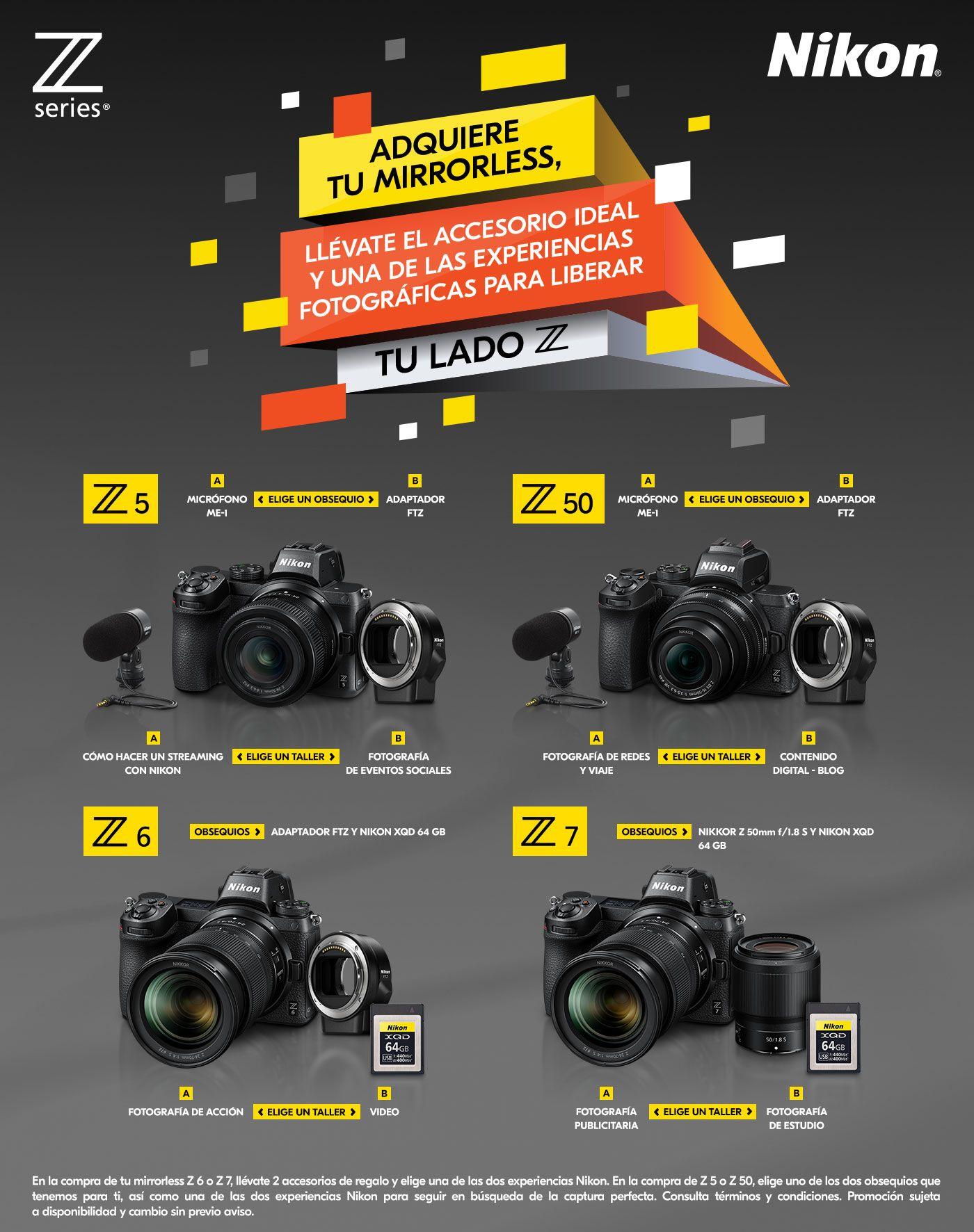Nikon Series Z Regala Accesorios y Curso Gratis