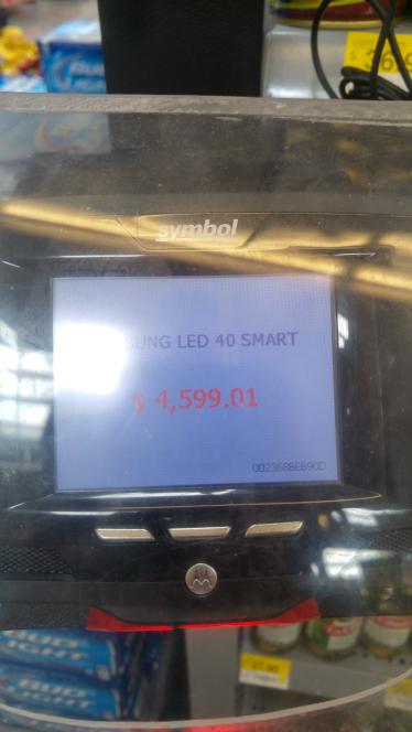 Walmart: Pantalla Samsung Smart Tv 40 pulgadas Full HD
