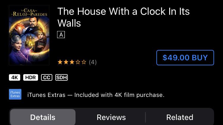Itunes - la casa con un reloj en sus paredes