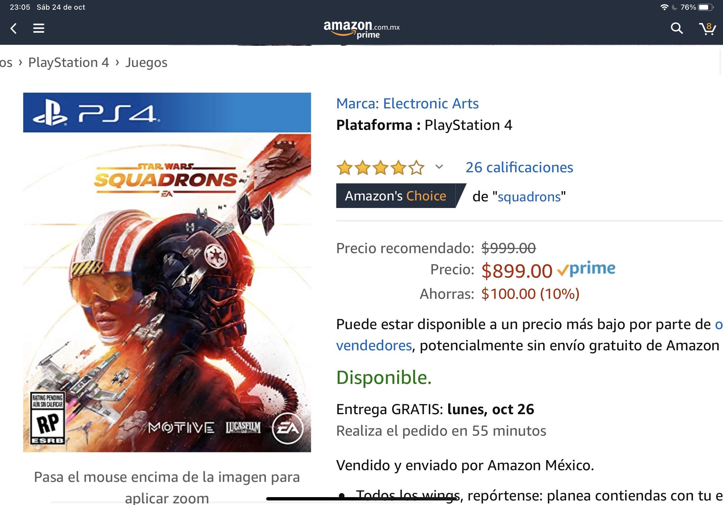 Amazon: Star Wars Squadrons - PlayStation 4