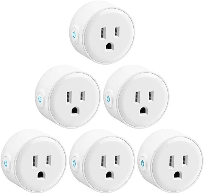 Amazon: paquete de 6 Smart Plug