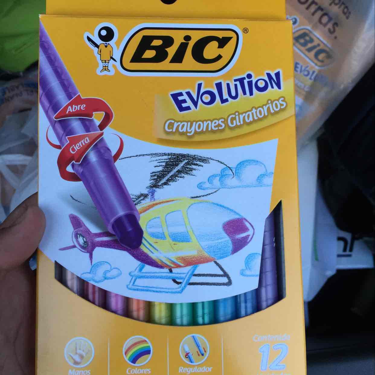 Chedraui: crayones marca bic, bolígrafos bistler paper mate $6.50 y $4.50