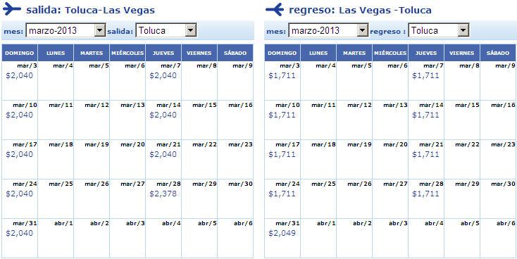 Nueva ruta Interjet: 299 dólares redondo a Las Vegas