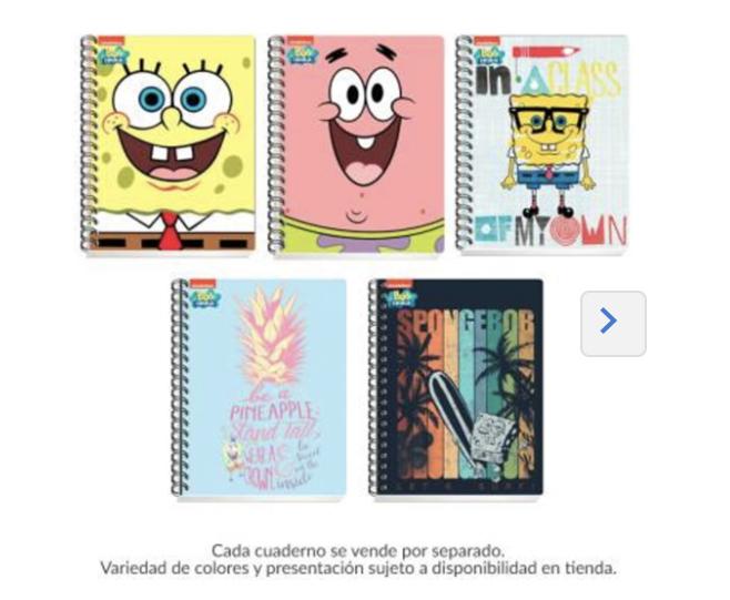Walmart: 2 cuadernos Scribe 100 hojas