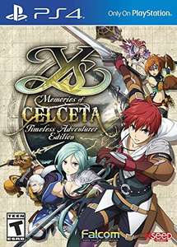 Amazon: Ys: Memories of Celceta - Timeless Adventurer Edition - PlayStation 4