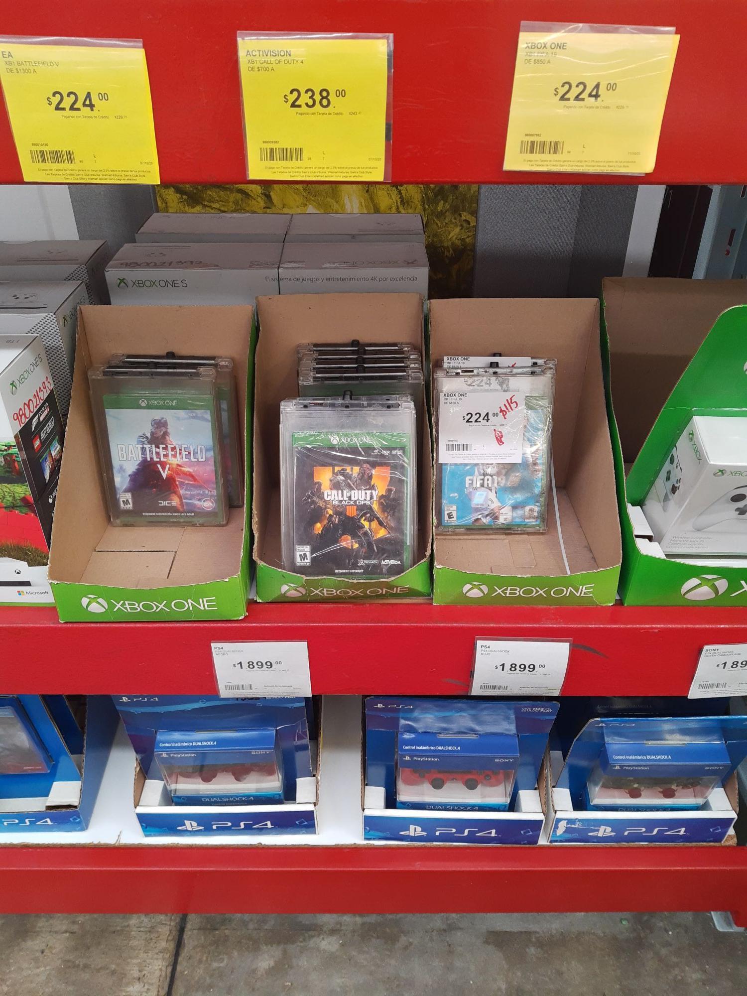 Sam's Club: Videojuegos en descuento para Xbox y PS4