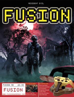 Fusion Retro Books: Revista FUSION - Resident Evil GRATIS (en inglés)