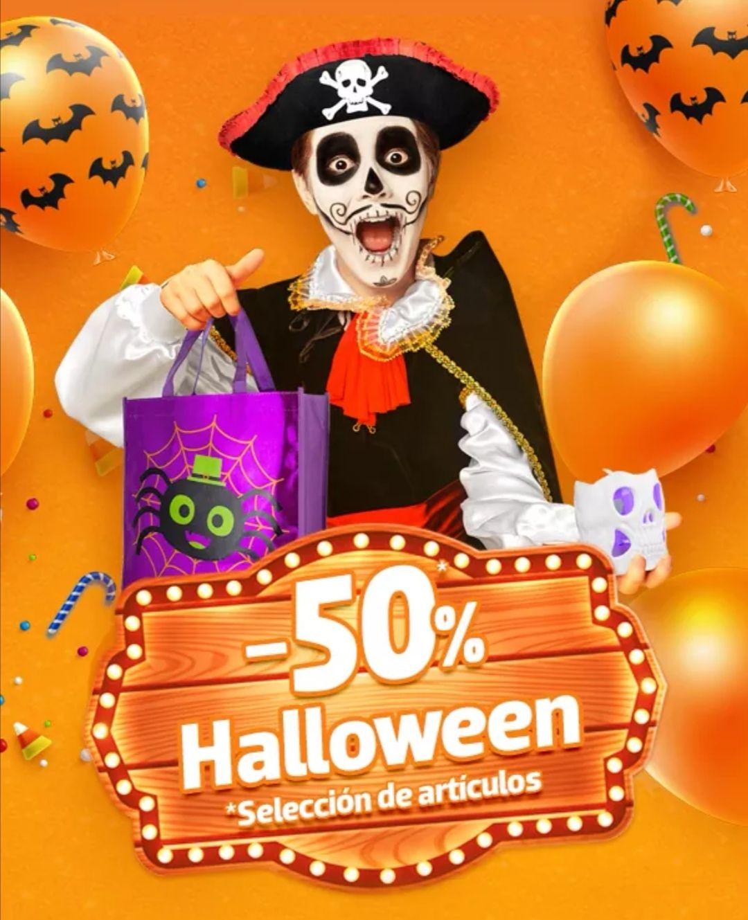 Modatelas: 50% de descuento en selección de artículos de Halloween