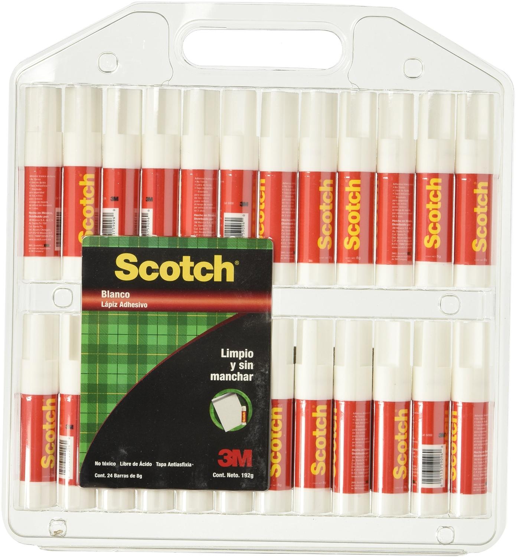 Amazon: Paquete 24 piezas Lápiz adhesivo Scotch 8 gr