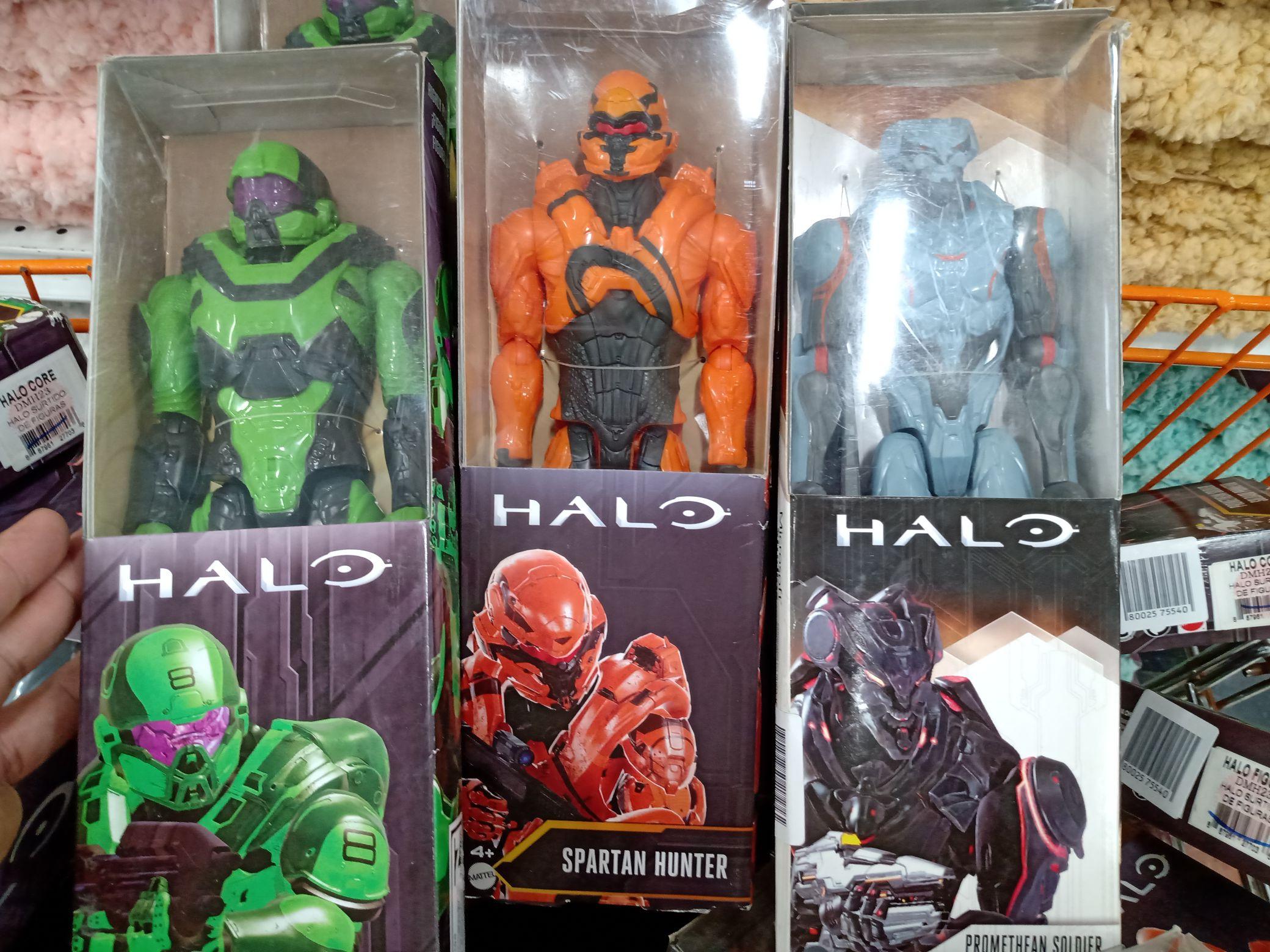 Figuras de Acción articuladas Halo 12 pulgadas Soriana Hiper Colima