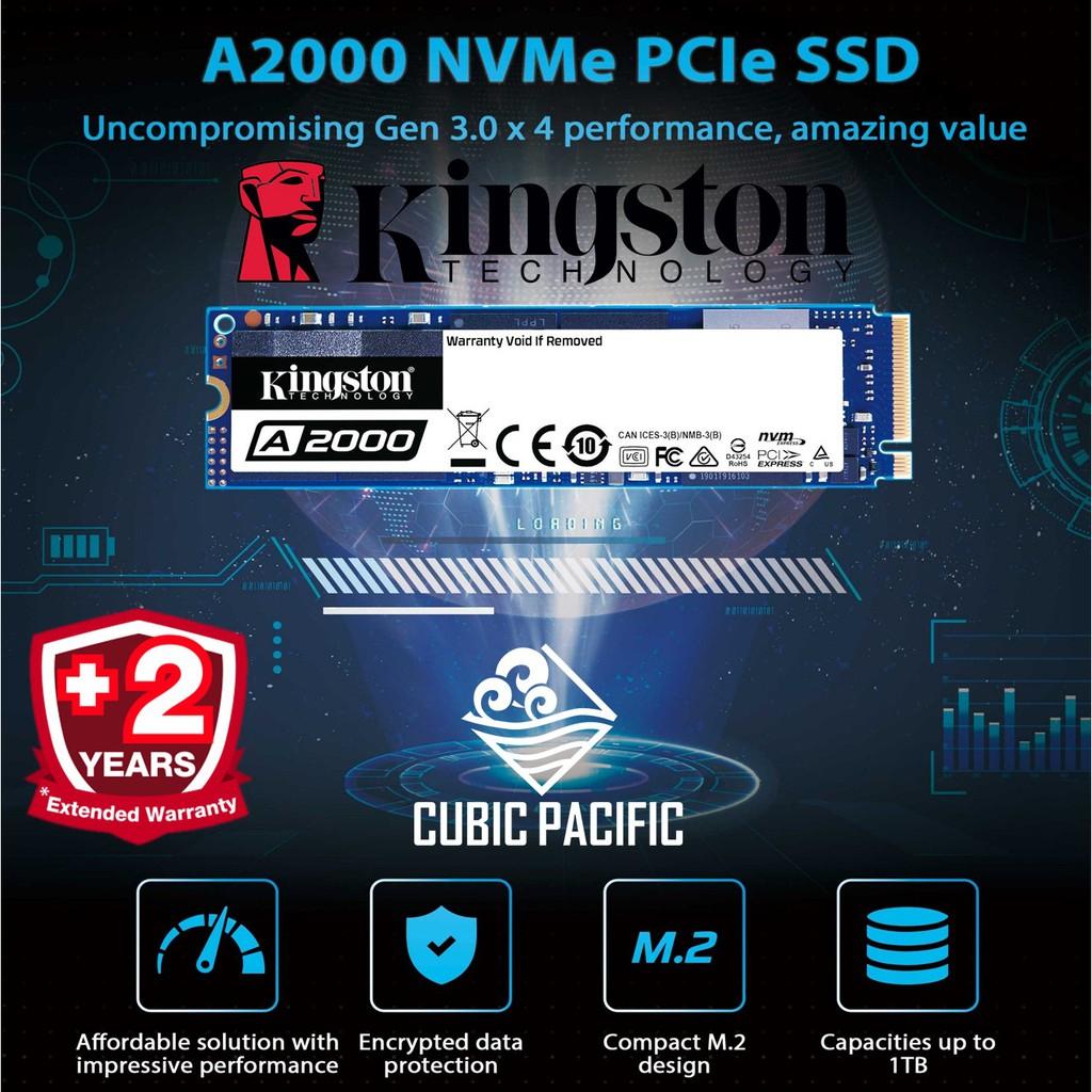 Cyberpuerta: SSD Kingston NVMe, 1TB, PCI Express 3.0, M2