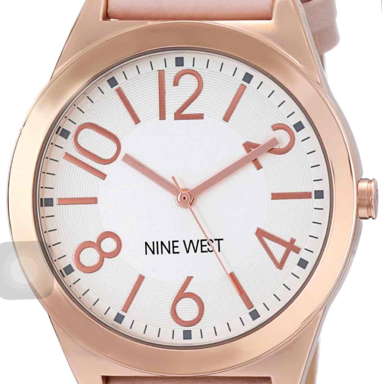 Amazon: Reloj Nine West NW/1660SVPK Rosado