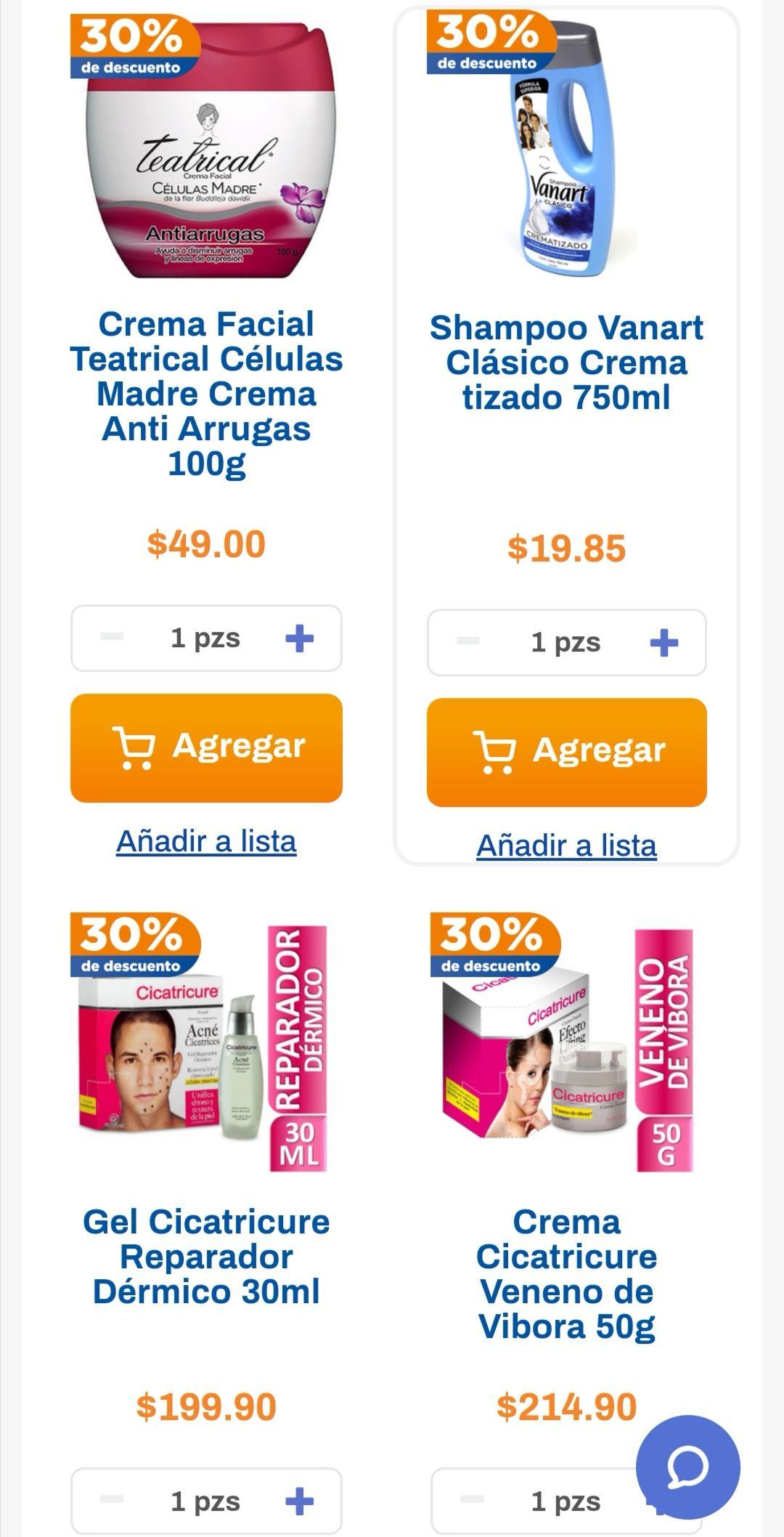 Chedraui: 30% de descuento en shampoo Vanart, Alert, Medicasp, Tío Nacho, tratamientos capilares Fermodyl y cremas Teatrical