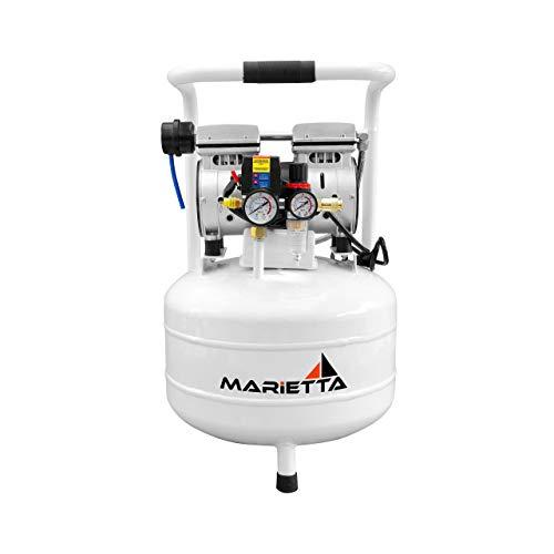 Amazon - Compresor de Aire Sin Aceite Marietta 30 Litros