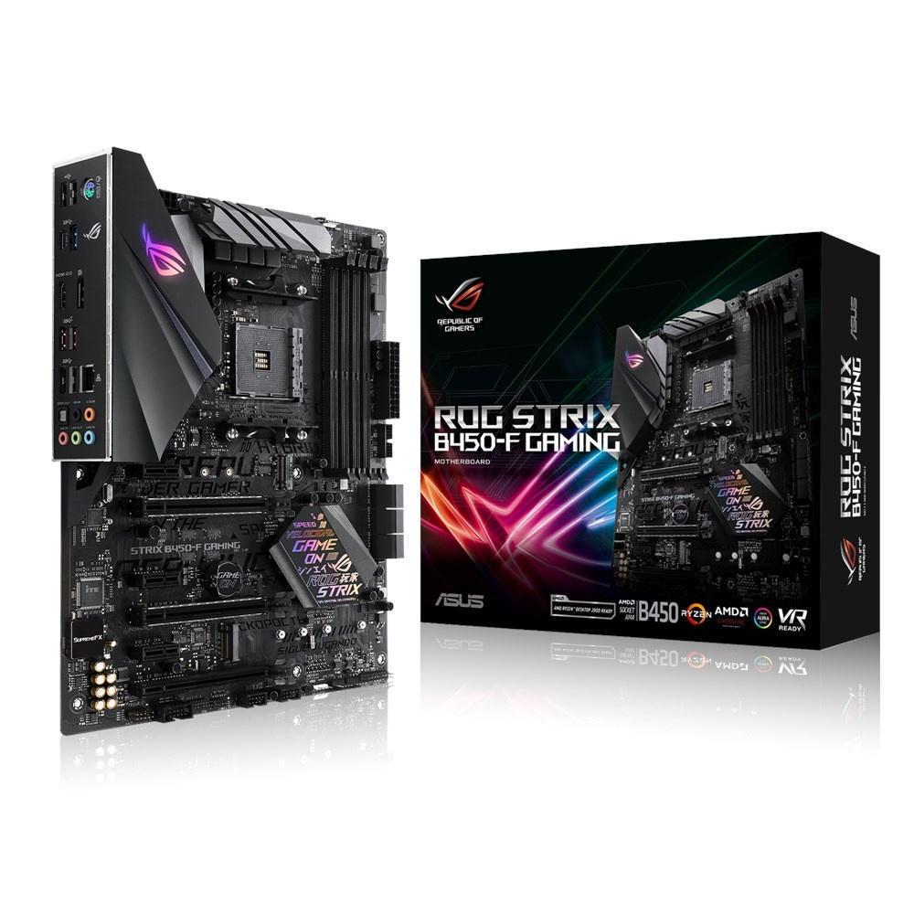 Cyberpuerta - Tarjeta madre ROG Strix B450-F Gaming