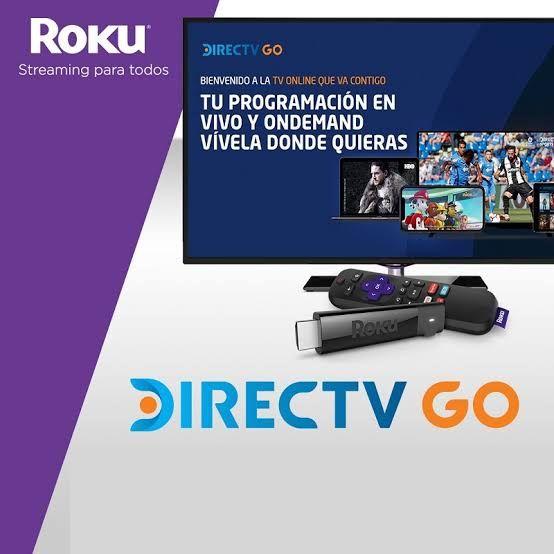 Directv Go: 1 mes gratis en la compra de nuevo dispositivo Roku (HBO incluido)
