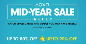 Playstation network - Mid Year Sale , call of duty points sale y Far cry sale