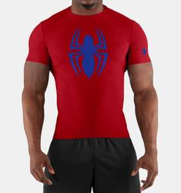Under armour en línea: playera Spiderman
